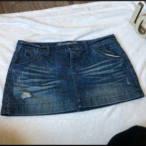American eagle jean skirt ✨